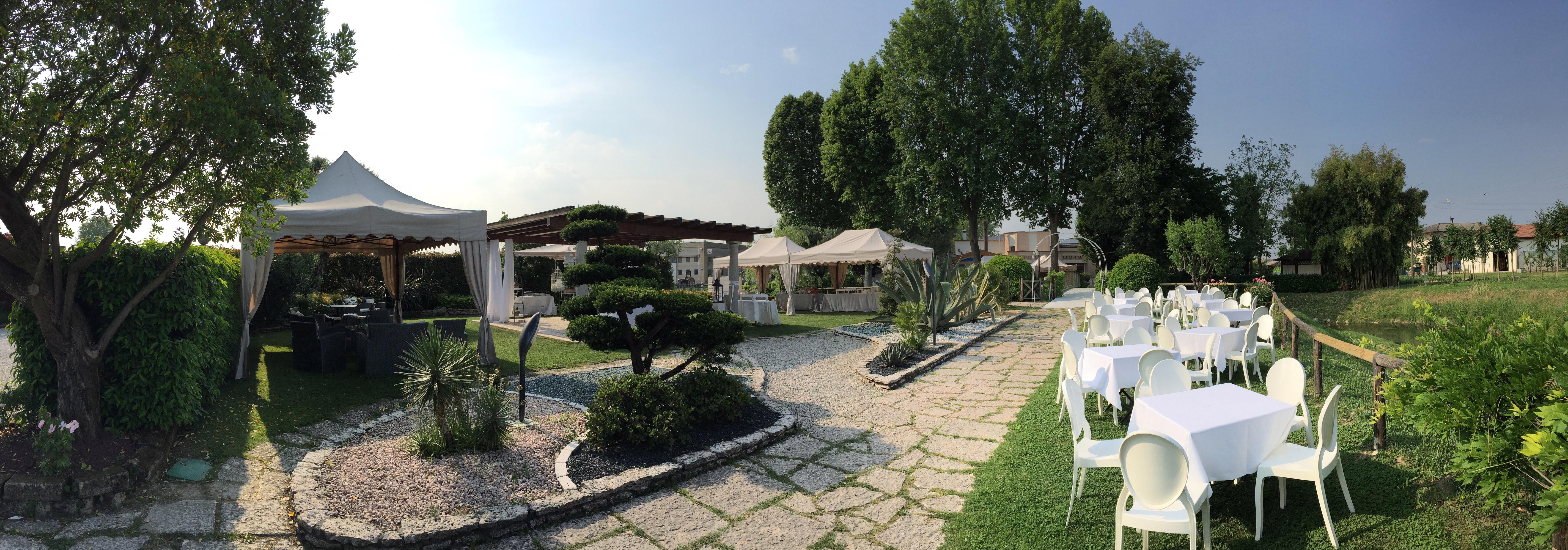 ristorante per matrimoni e cerimonie con piscina