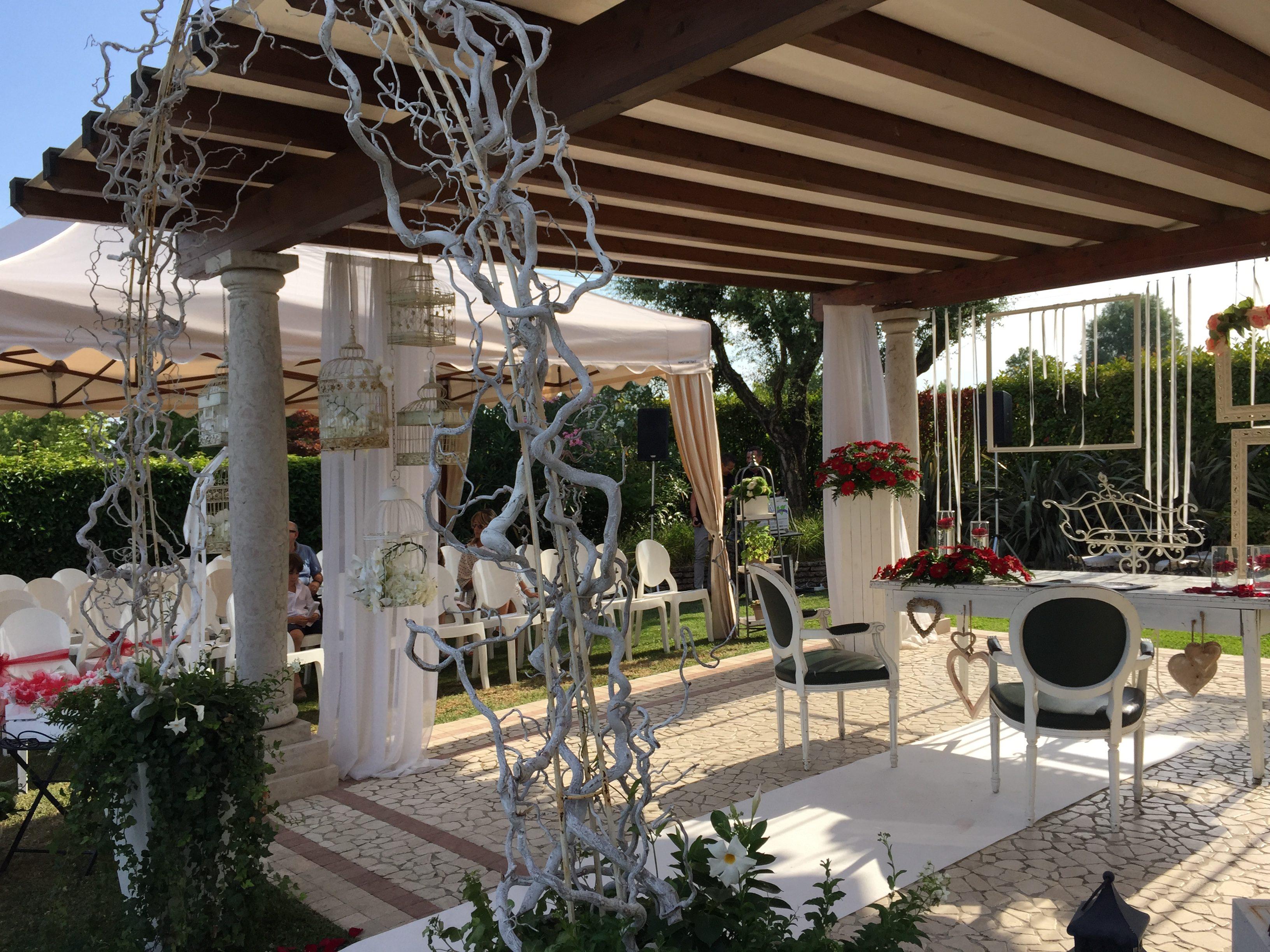 ristorante location con parco per matrimoni e cerimonie