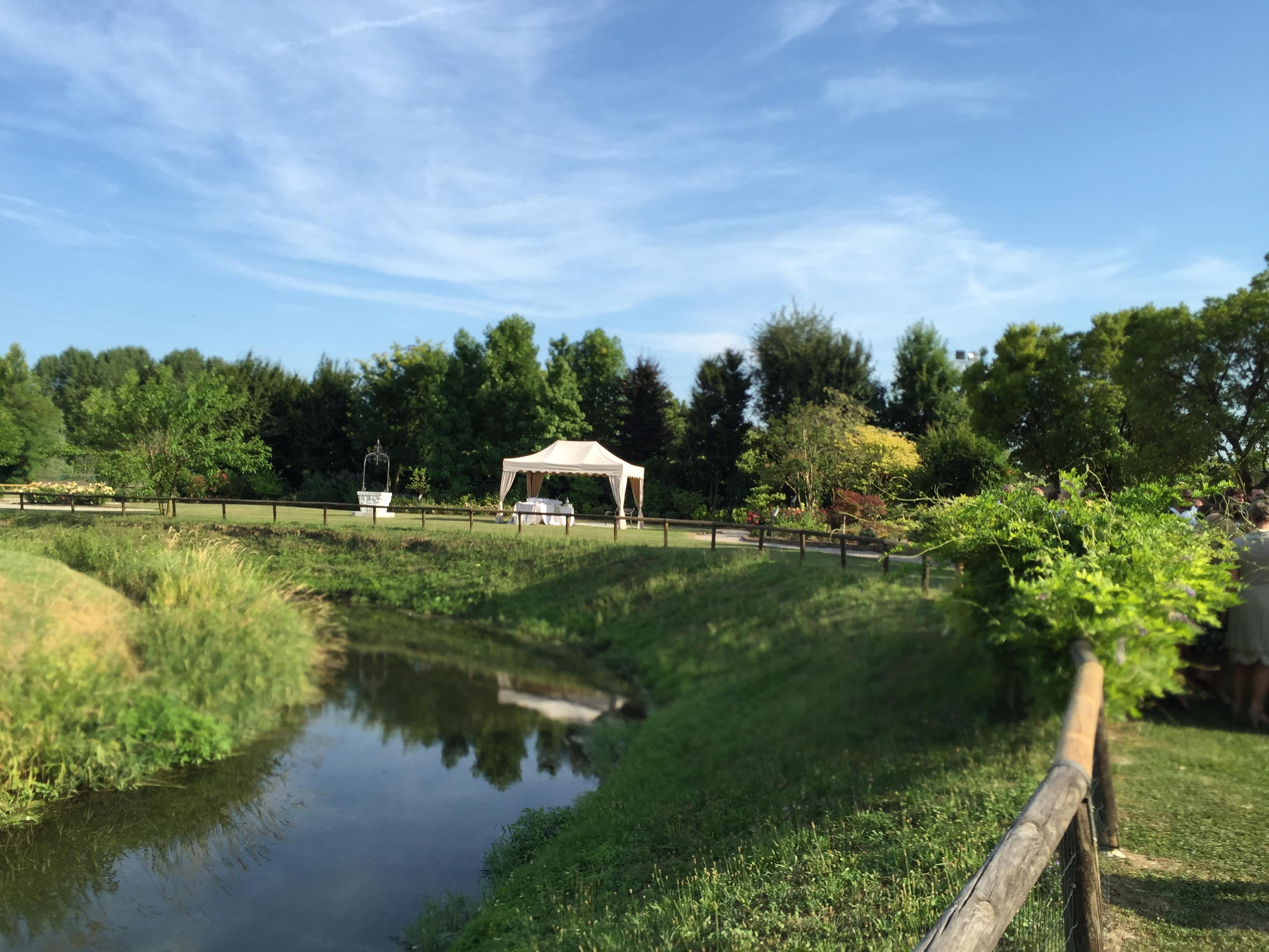 ristorante per matrimoni e cerimonie con parco estivo