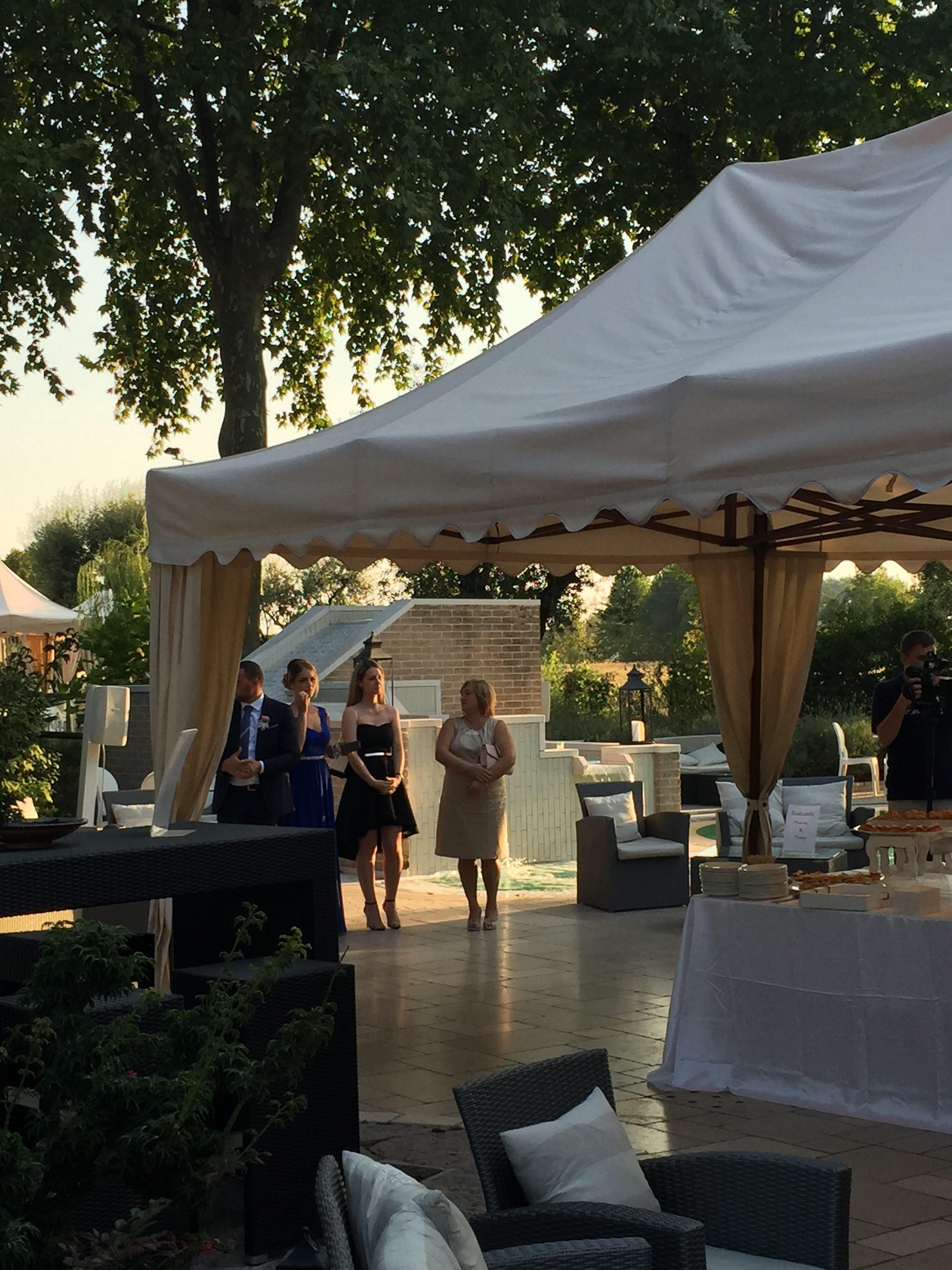 giardino estivo per matrimoni e cerimonie