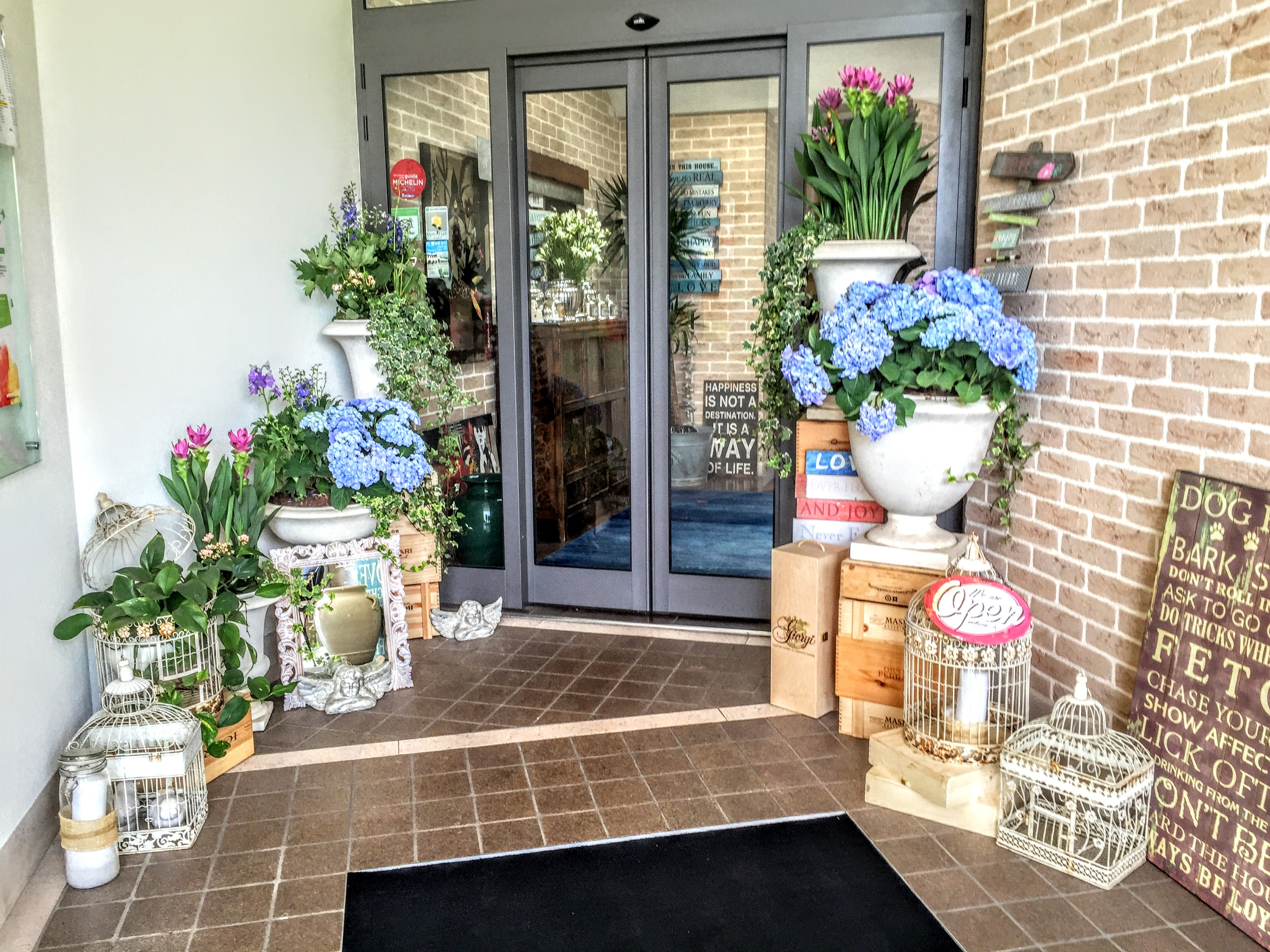 ingresso ristorante location per matrimoni