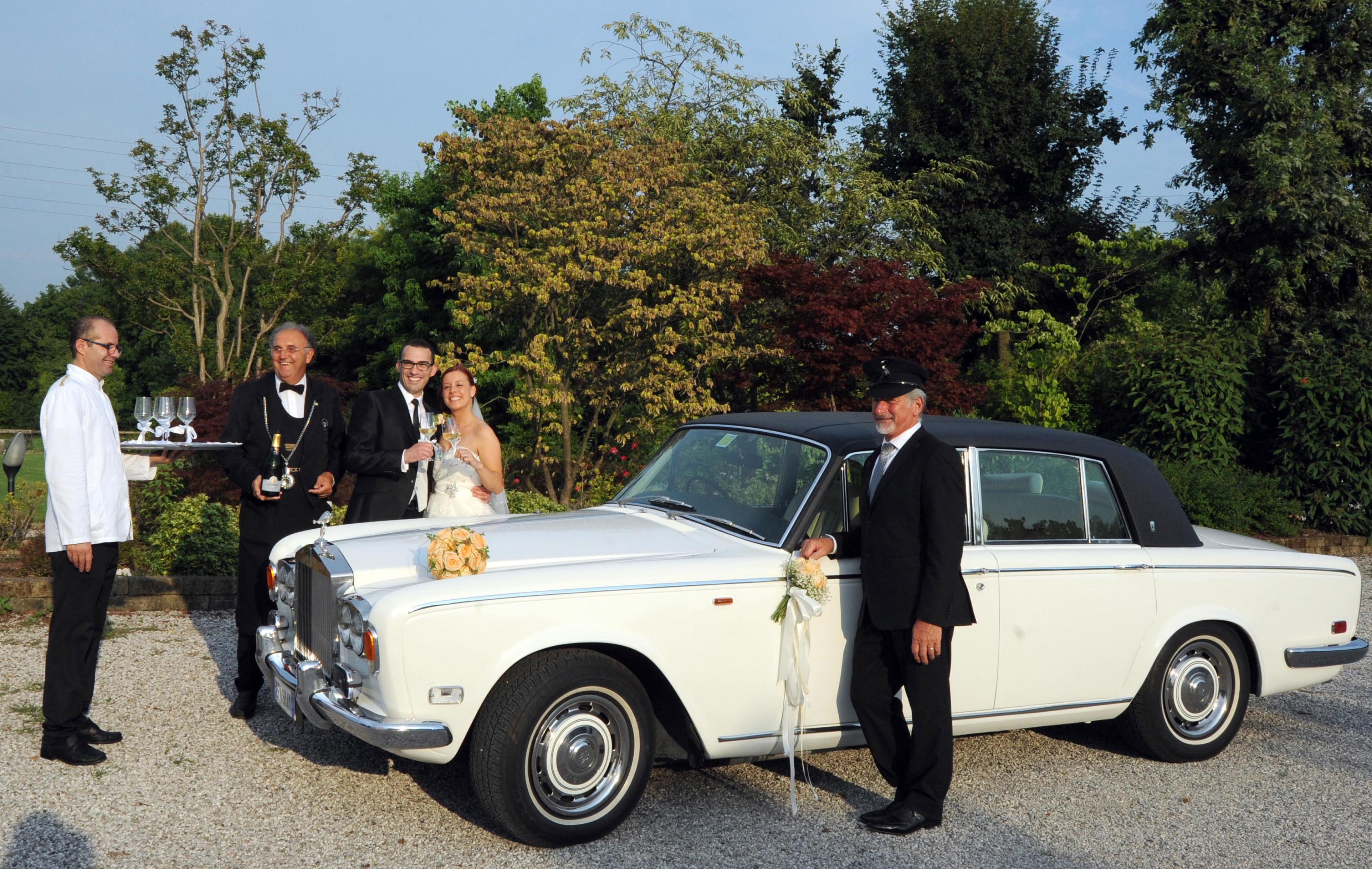 auto da cerimonia e matrimonio