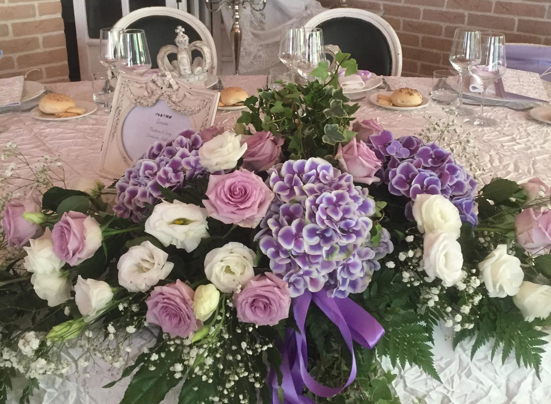 tavola ristorante per matrimonio