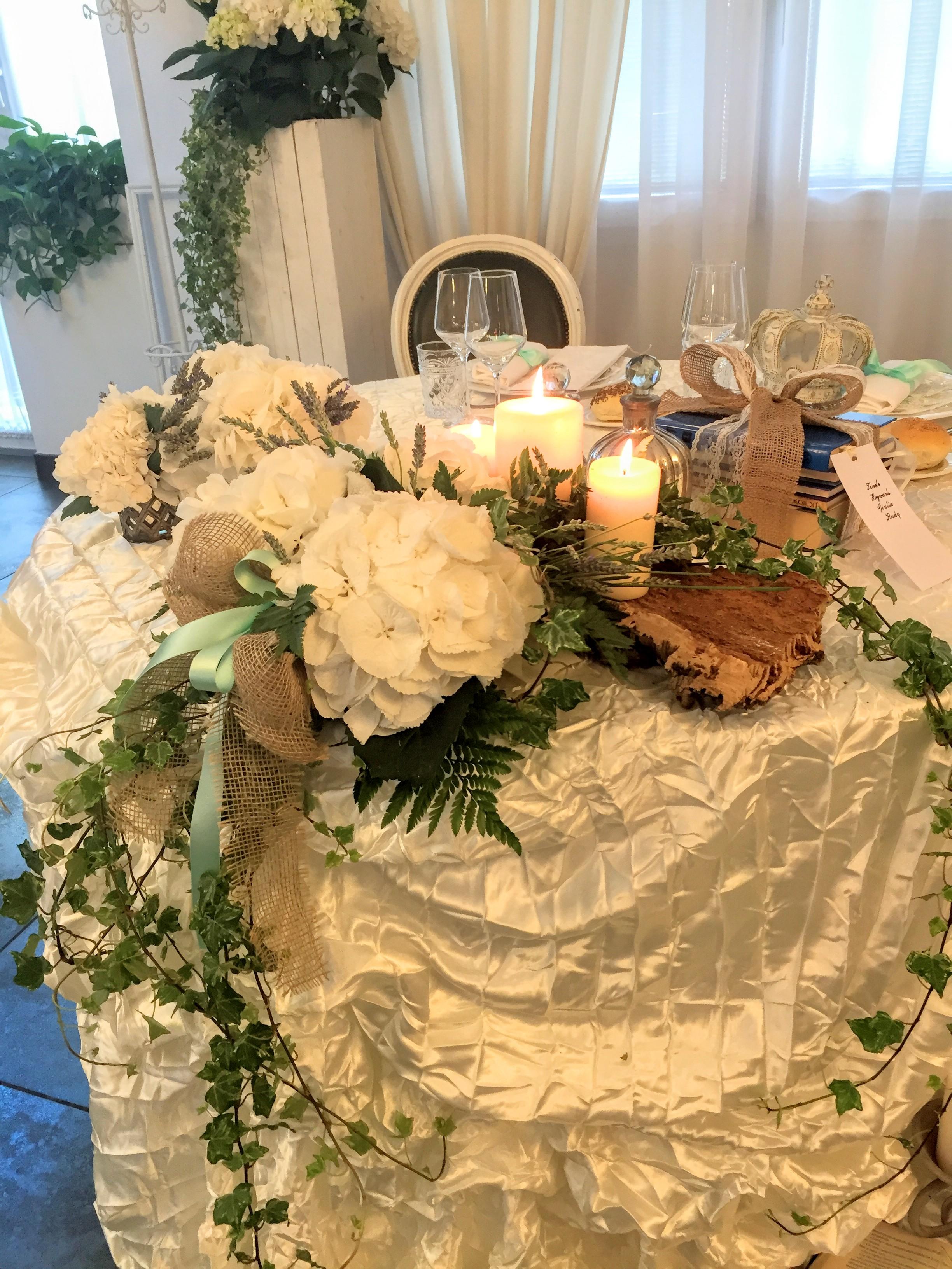 allestimento pranzo di matrimonio stile a tale of love