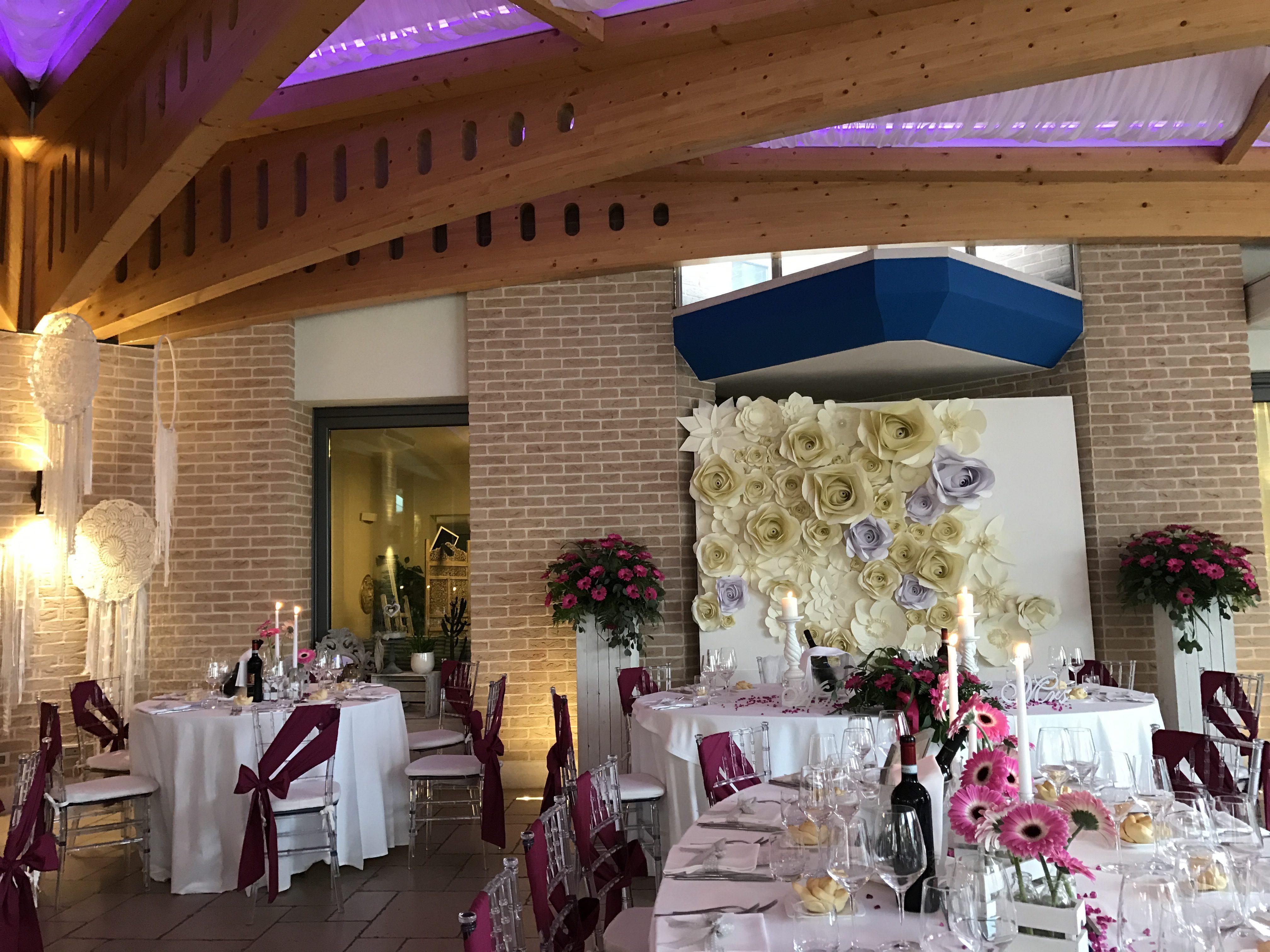 sala grande tavola da cerimonia di matrimonio