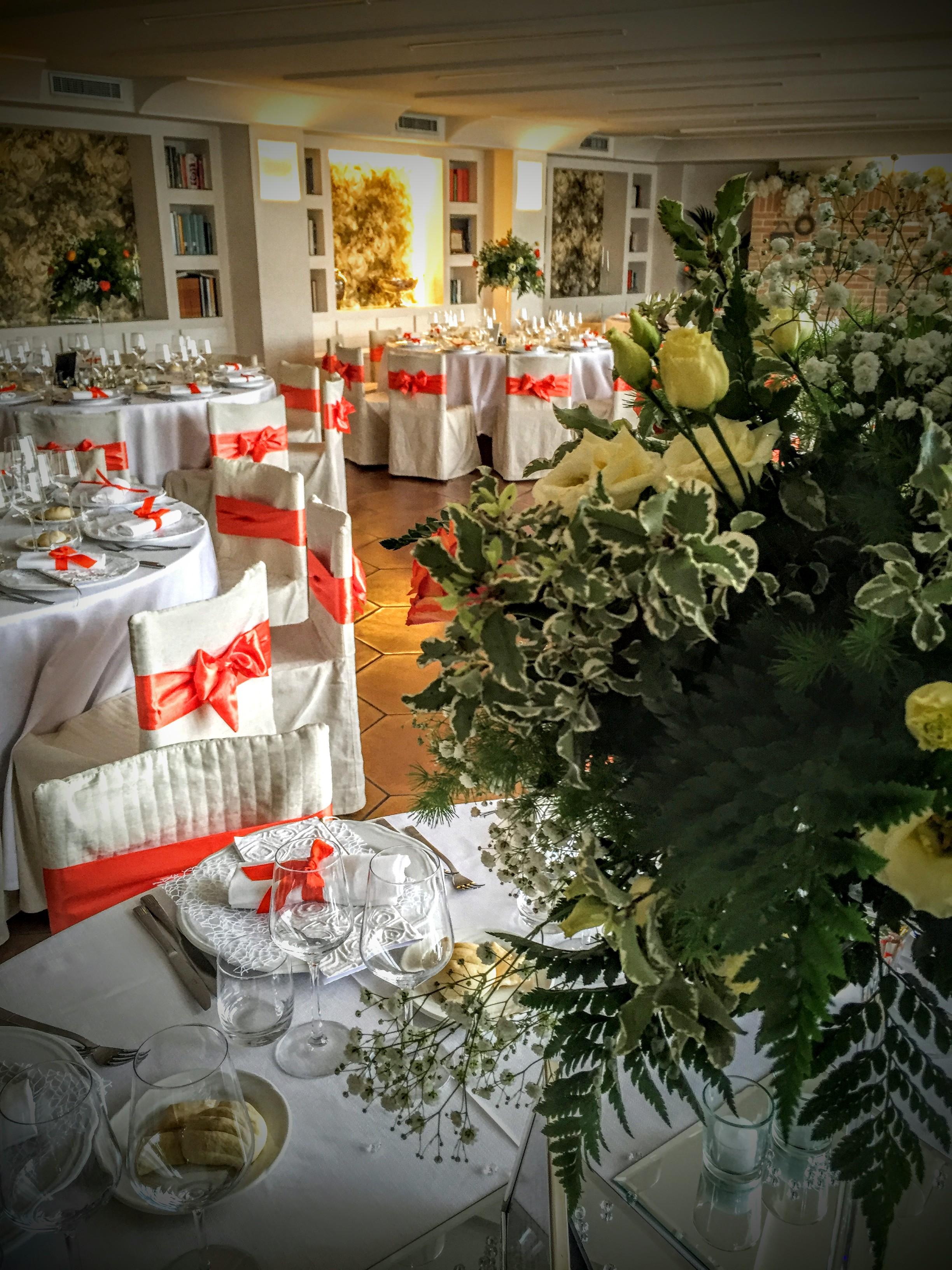 sala grande ristorante per matrimoni