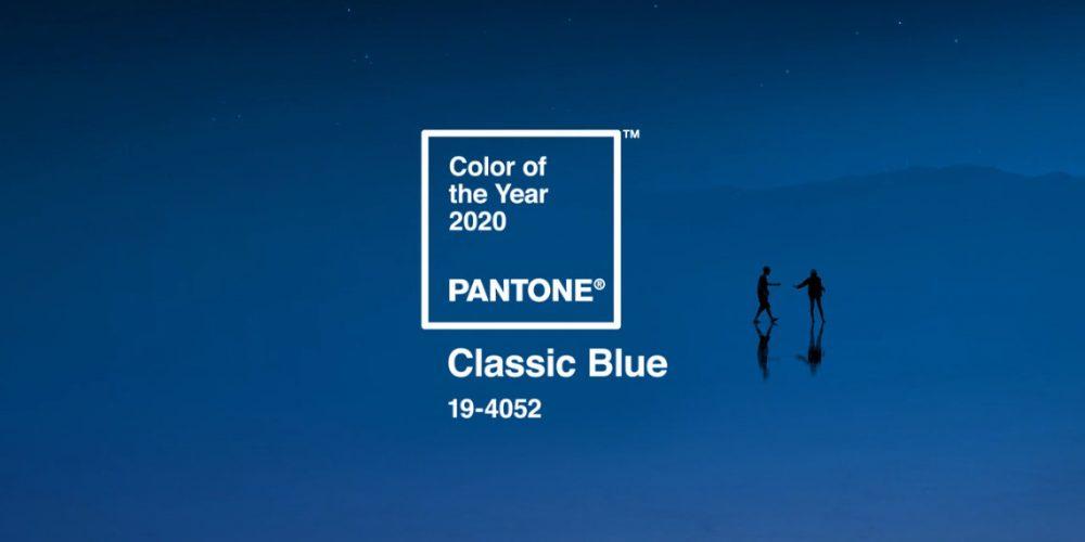 Classic Blue: il colore Pantone del 2020