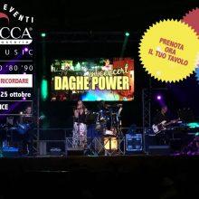 Musica live con i Daghe Power!